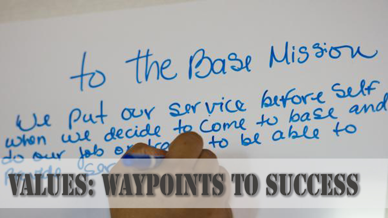 Values: Waypoints to Success