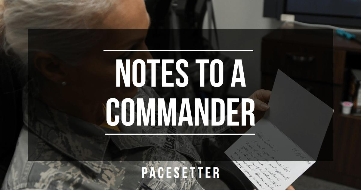 Notes to a Commander